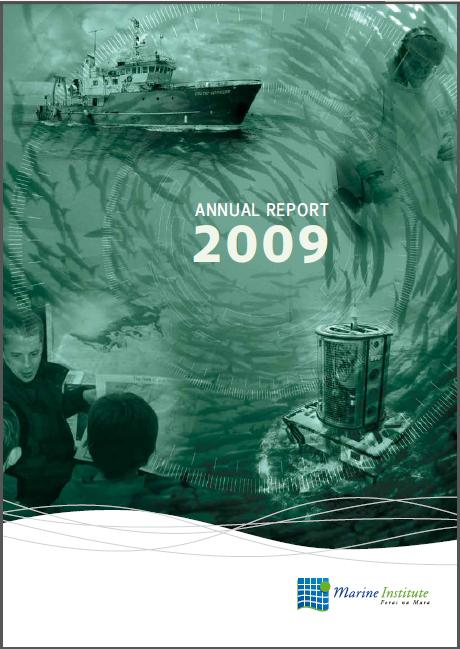 PDF of the Marine Institute's 2009 Annual Report