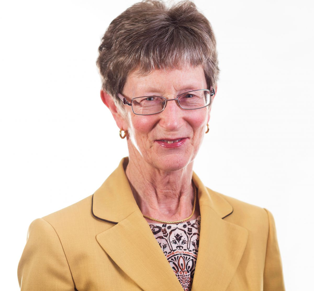 Photo of board member Prof. Patricia Barker.