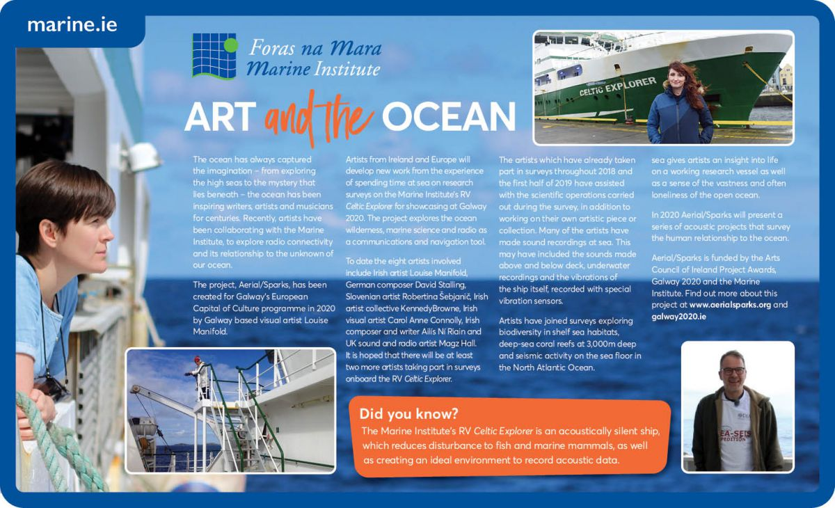 Art and the Ocean Infographic