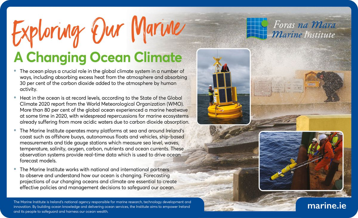 Exploring Our Marine - A Changing Ocean Climate