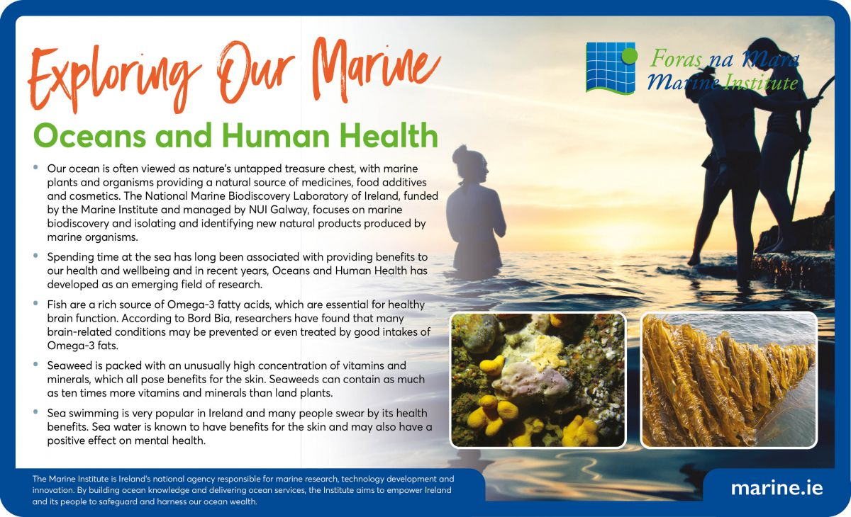 Exploring Our Marine - Oceans and Human Health