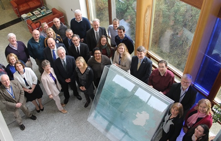 The Marine Institute's new Board met for the first time this week at the Institute's headquarters in Oranmore, Galway.