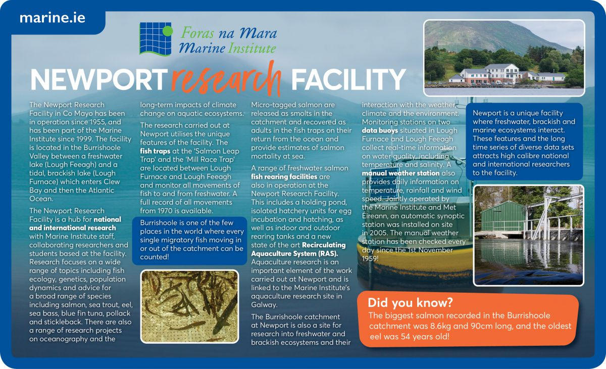 Newport Research Facility Infographic