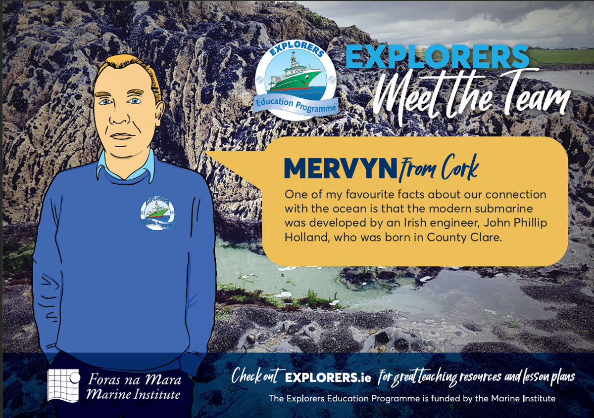 Mervyn - The Ocean is Largely Unexplored