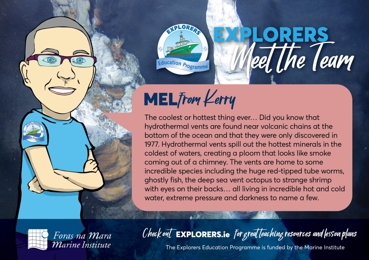 Mel - The Ocean & Life in the Ocean Shape the Features of the Earth