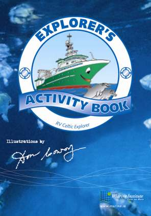 Picture of Explorer's Activity Book.