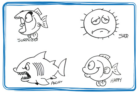 Fishy Faces – Ocean Emotions