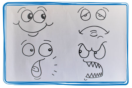 Fun Cartoon Faces