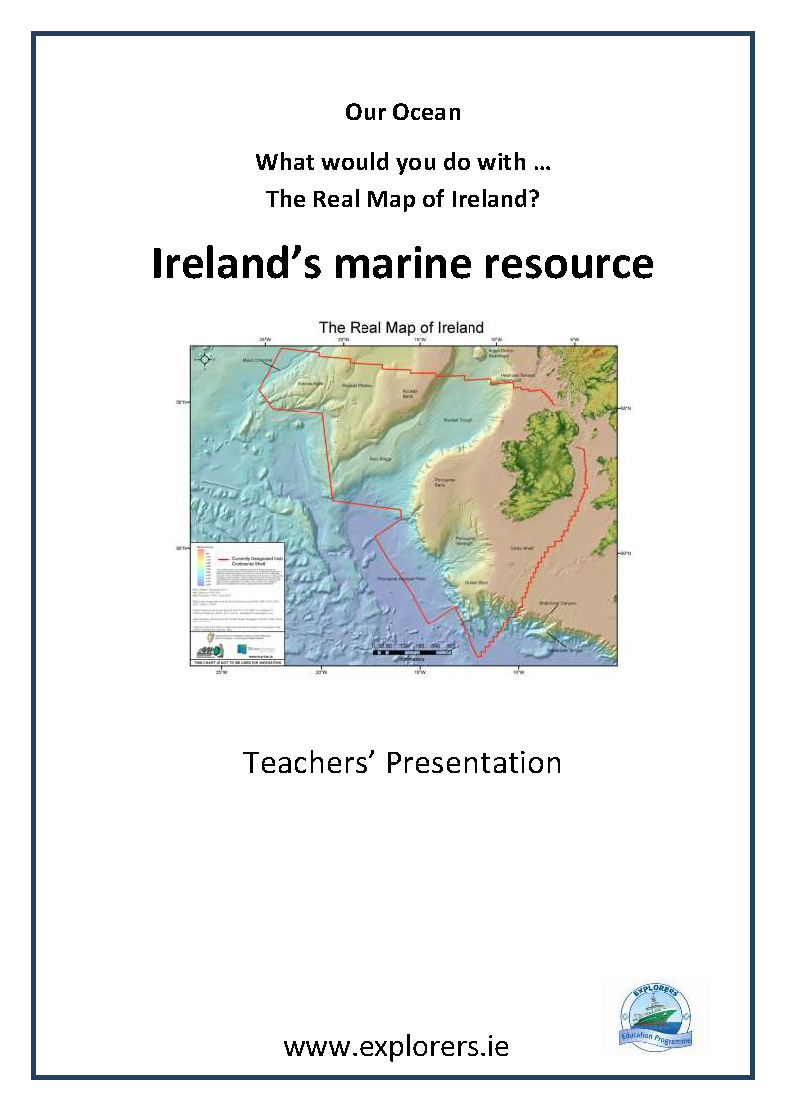 Ireland's Marine Territory teachers presentation