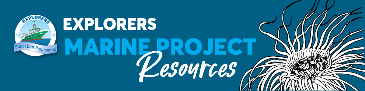 Main Image. Explorers Marine Project Resources