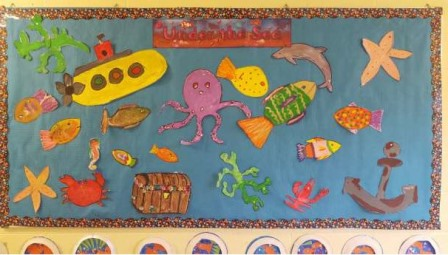 Moneystown National School under the sea display_Explorers Education Programme 2016