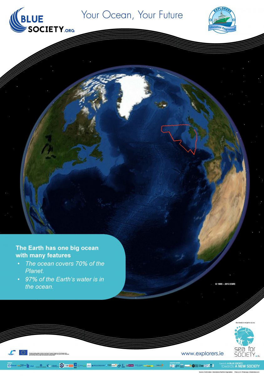 Ocean Literacy Principal 1. The Earth has one big ocean with many features