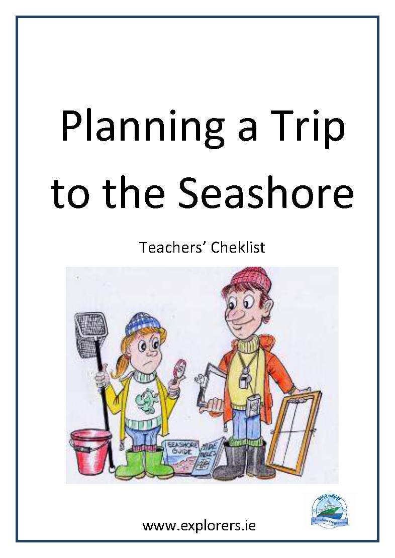 Planning a Trip to the Seashore Checklist