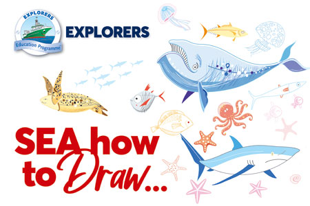 Explorers Sea How to Draw