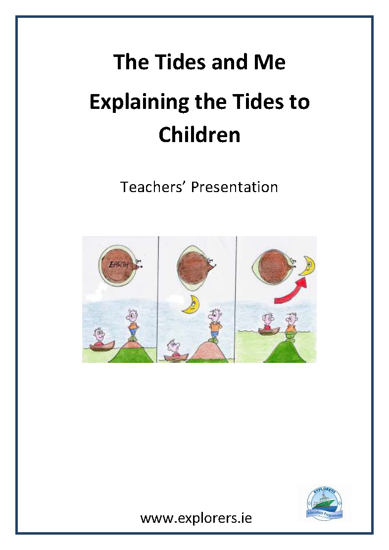 The Tides and Me Explaining Tides to Children cover image