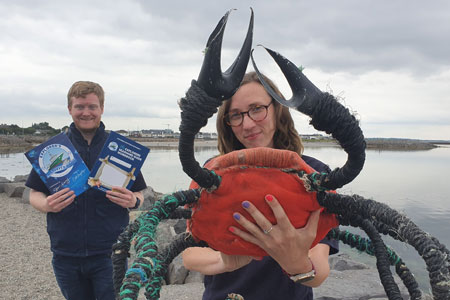 Explorers outreach team deliver CPD online course bringing the seashore to the classroom. Photograph by Cushla Dromgool-Regan