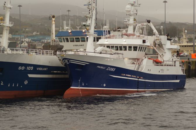 Fishing Vessel Pacelli in Killybegs