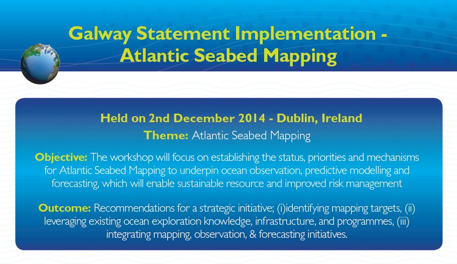 Image with Objectives and Outcomes of Atlantic Seabed Mapping.