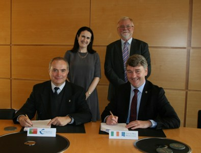 The Marine Institute and the Portuguese Hydrographic Institute have entered into a Memorandum of Understanding (MoU) agreement.