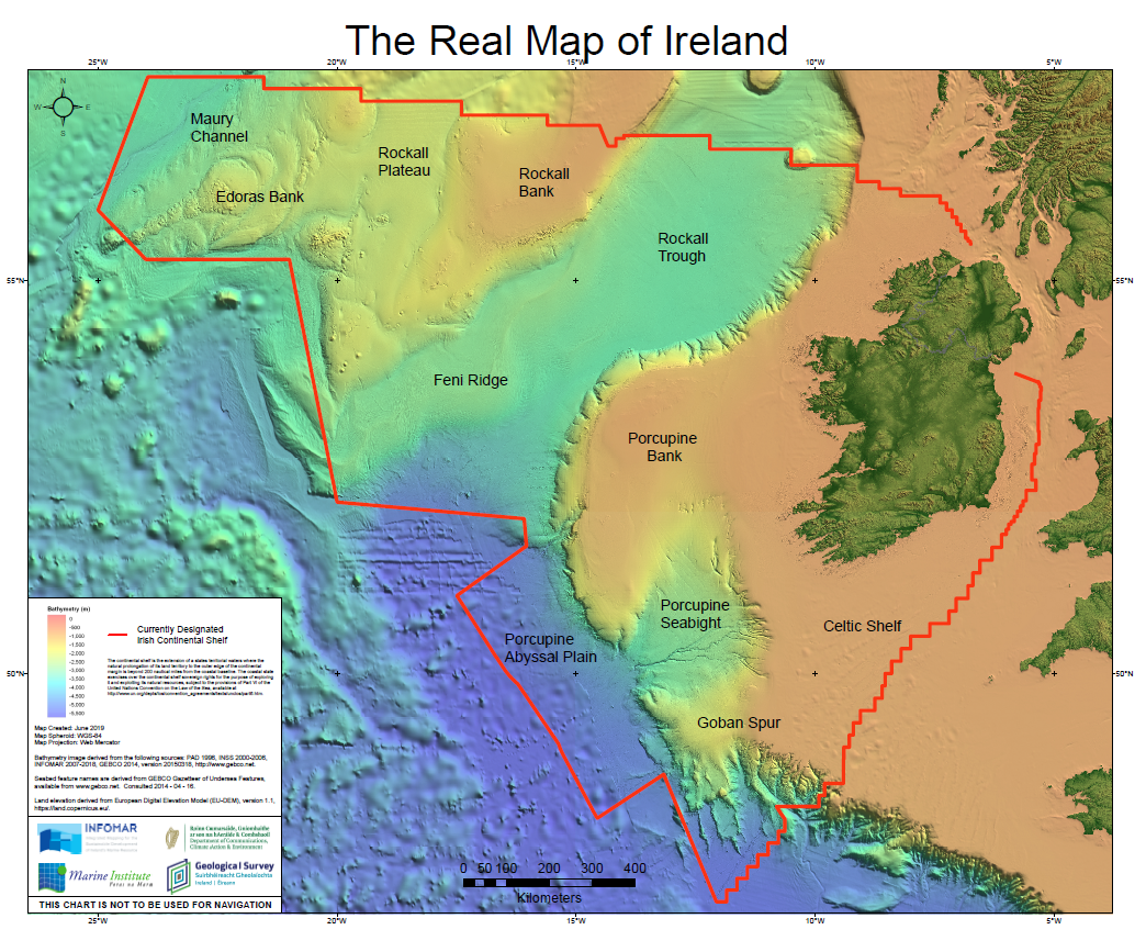 Image of 'The Real Map of Ireland'