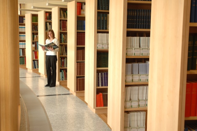 Photo of our Oceanus Library. Photographer Andrew Downes.