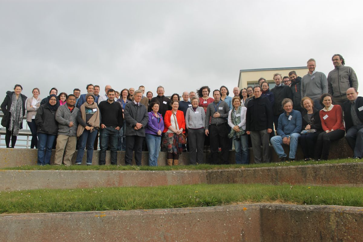 Over 70 marine scientists attended the Research Vessel Users Conference at the Marine Institute.