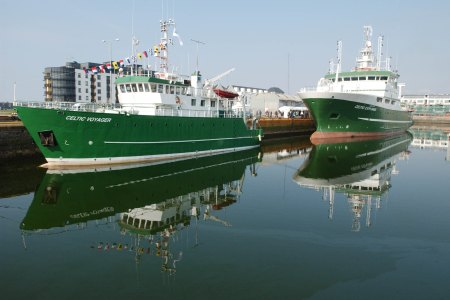 Shiptime image (RV Celtic Voyager and RV Celtic Explorer). Photographer Andrew Downes