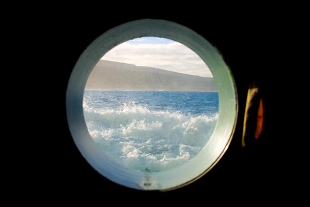 View through Celtic Voyager Port Hole
