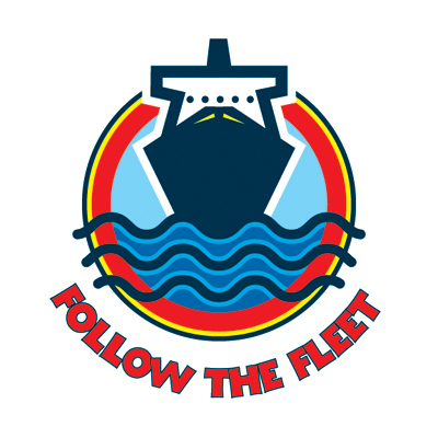Follow the Fleet Logo.