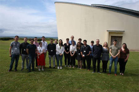 Students involved with the Marine Institute's Bursary Programme 2019.
