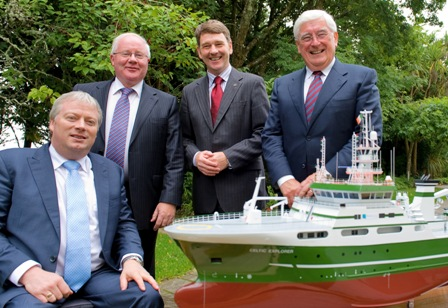 Ministers announce 23 million euro for marine research sept 2010