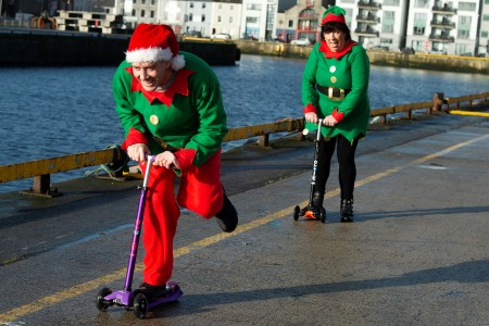 From Galway to the North Pole - Marine Institute Launch Festive Challenge to Save Lives at Sea. Photo Andrew Downes, XPOSURE