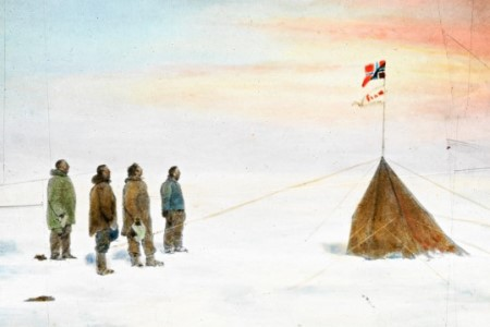 Amundsen Exhibition Opens at NUI Galway. Picture courtesy of the Fram Museum, Oslo.