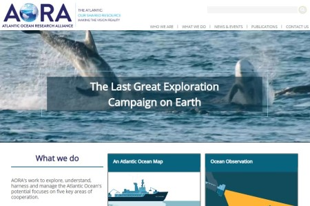 Atlantic Ocean Research Alliance Coordination and Support Action launches new website