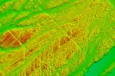 2.	Bathymetry map of the sea floor during the inshore survey of Mizen Head, Cork