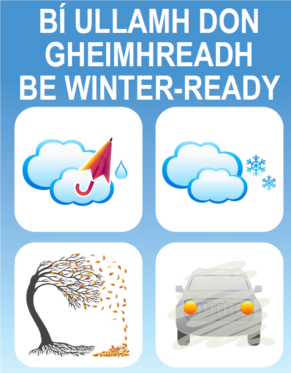 Marine Institute supports Government's 'Be Winter Ready' campaign