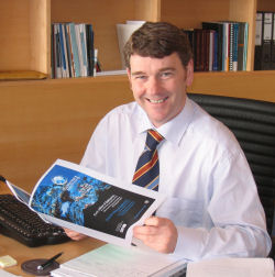 Dr Peter Heffernan and Biomarine Brochure