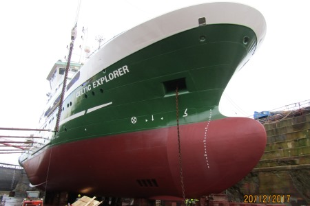 RV Celtic Explorer off to a renewed start in 2018