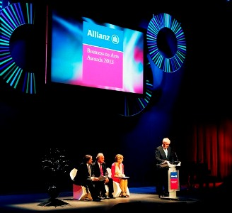 Allianz Business to Arts Awards 2013