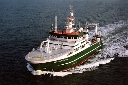 Surface ocean carbon dioxide observations collected on the  RV Celtic Explorer contribute to global science