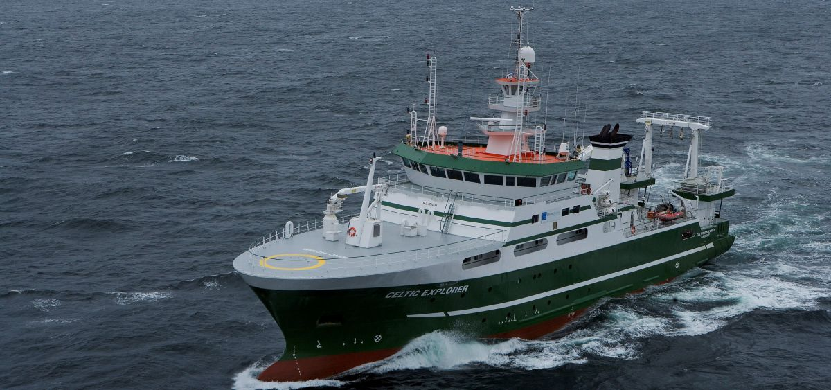 Celtic Explorer. Photographer David Branigan Oceansport.
