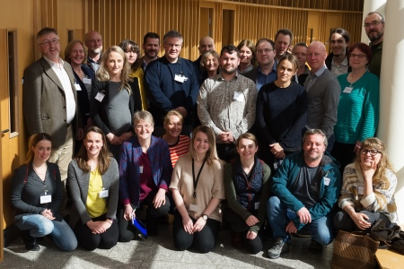 Chemical Oceanography Workshop 2018 at the Marine Institute. Photo Andrew Downes.