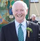 Dinny McGinley TD and Minister for Gaeltacht Affairs