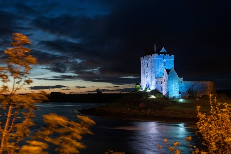 Dunguaire Castle, Kinvara, Co. Galway Photo by Andrew Downes