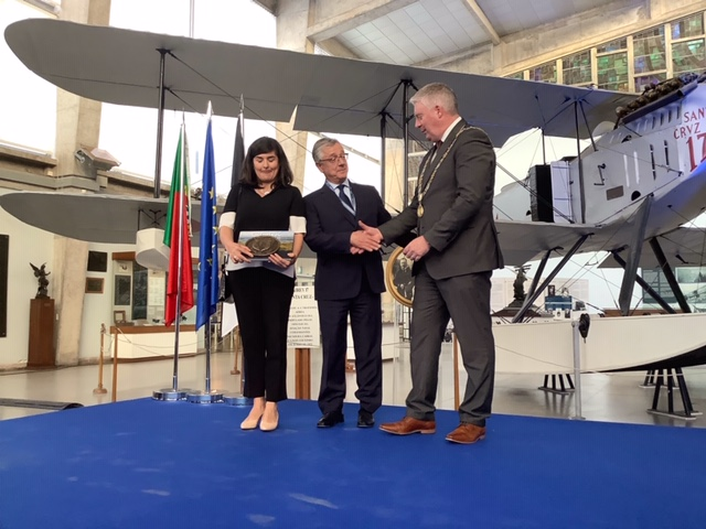 One of the most prestigious events in the European maritime calendar is officially handed over to Cork City and Ireland