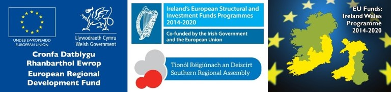 The BlueFish Project is funded by the European Regional Development Fund, through the Ireland Wales Co-operation Programme 2014 – 2020.