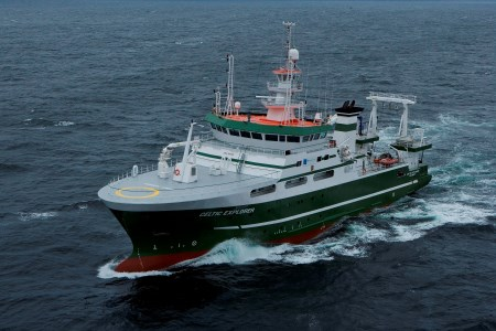 The RV Celtic Explorer is the larger of the two state-owned research vessels run by the Marine Institute.