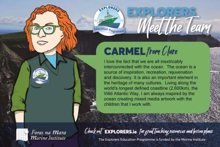 Explorers meet the team - Carmel