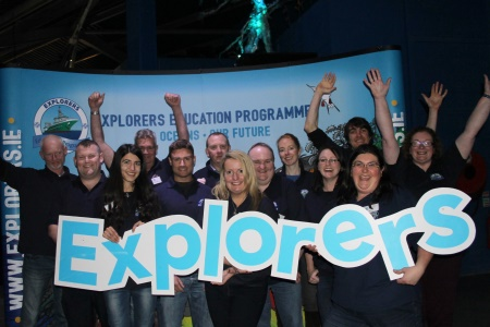 The ten Explorers Education Programme™ centres met at Galway Atlantaquaria recently for a workshop and group training in the delivery of the modules to students in Sligo, Donegal, Mayo, Galway, Clare, Kerry, Cork, Waterford, Wicklow and Dublin.  Photograph: Cushla Dromgool-Regan