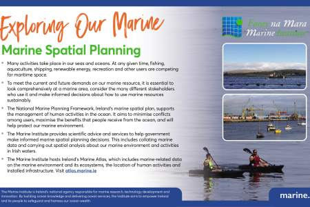 Exploring Our Marine with the Marine Institute - Marine Spatial Planning